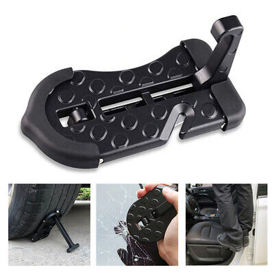 Vehicle Car Foot Pedal Foldable Ladder Easy Access To Rooftop Door Step Hook
