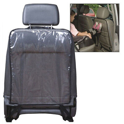 Car Seat Back Protector Cover For Children Kick Mat Mud Clean (Black) R5C7