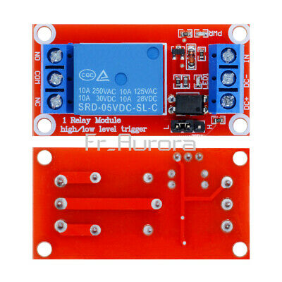 5V 1-Channel Relay High Low H/L Level Triger Relay Module with Optocoupler