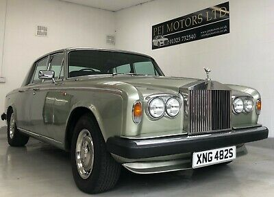 Rolls Royce Silver Shadow II 1978 with only 64,000 Miles 2 Owners from new