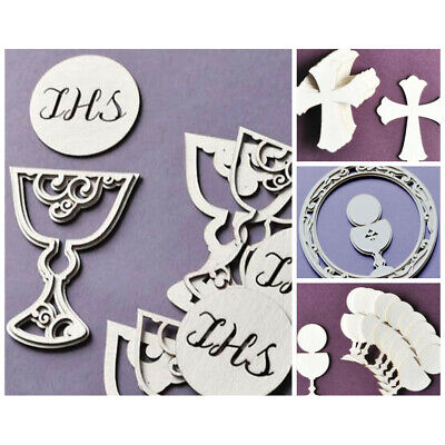 WYCINANKA First Holy Communion Eucharist Baptism Ornaments Craft Shapes for C...