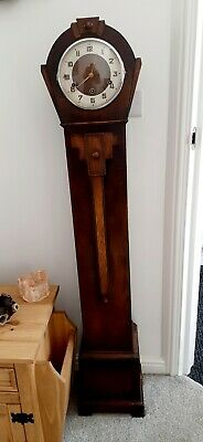 Vintage Granddaughter/Grandmother Longcase Clock, Westminster Chimes