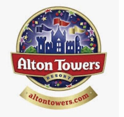 Alton Towers Tickets X2 19th September 2019 Look Bargain