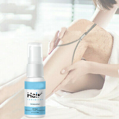 New Spray & Wipe Hair Removal Spray Away Natural Painless Remover Hair Body Care