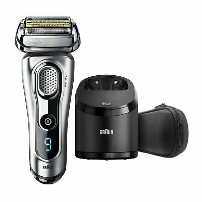 Braun Series 9 9290cc Men's Electric Foil Shaver Wet and Dry & cleaner liquid