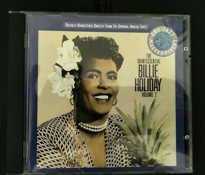 Billie Holliday  - The Quintessential Volume 2 - CD