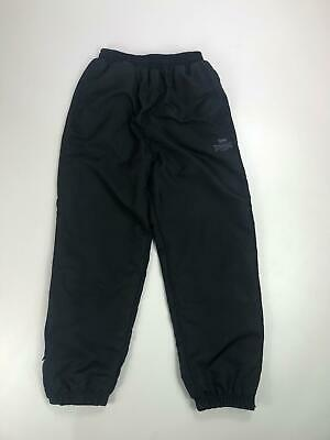 Boys Lonsdale Black Lined Cuffed Leg Jogger Tracksuit Bottoms Casual Age 9-10Y