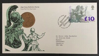 GB QEII 1993 High Value Definitive FDC £10 - Special Windsor H/S Lovely Cover!