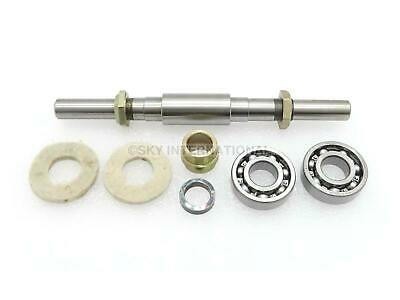 Front Wheel Axle With Spacers And Bearings Fit For Re Royal Motorcycle