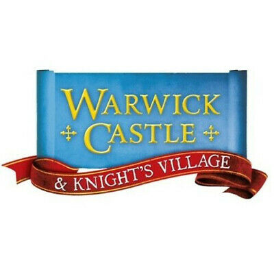 2x Tickets Warwick Castle 13/09/19 Friday 13th September 2019