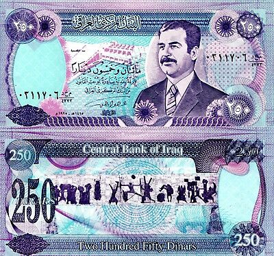 IRAQ 500 Dinar Banknote World Paper Money UNC Currency Pick p98 Note Post Saddam
