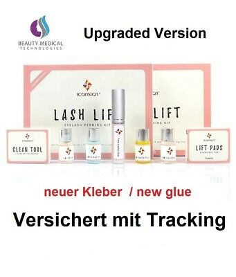 Wimpernlifting Wimpern Lift Wimpernwelle Lash Lift Kit Wimpernlaminierung 18 tlg