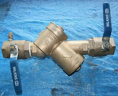 "ZURN WILKINS 2"" 950 XL Backflow Preventer Valve with Isolation Valves"