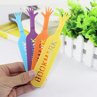 1 Set/4x  Help Me Bookmarks Pad Note Stationery  Novelty Book Mark Interesting*A