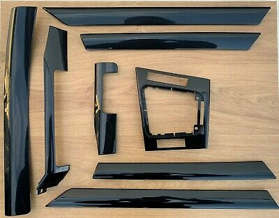 Genuine BMW 3 Series E46 Saloon Estate Interior Piano Gloss Black Trim Set RHD V