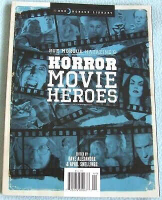 Rue Morgue Library HORROR MOVIE HEROES 142 page MAGAZINE