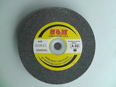 Lincoln Electric 6x3//4 inch 60 Grit Bench Grinding Grinder Wheel Aluminum Oxide