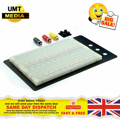 1660 Hole Breadboard Test Bed Solder Free Circuit Tester ZY-204