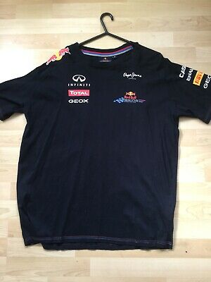 Red Bull Racing Pepe Jeans F1 Formula 1 T Shirt Size  Xl