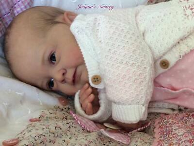 Joanna's Nursery ~ ADORABLE~  Reborn Baby GIRL doll ~ SANYA By GUDRUN LEGLER ~
