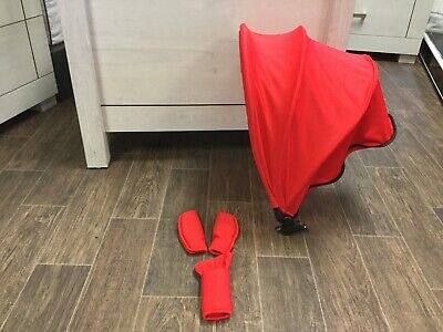 icandy Raspberry Canopy Flavour Pack Hood & Pads in Lush - Red Brand New