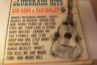 Don Reno & Red Smiley, Bluegrass Hits, 33 RPM