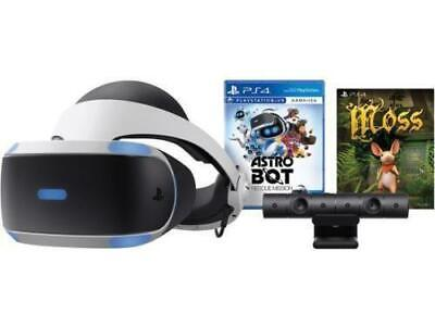 BRAND NEW Sony PlayStation VR ASTRO Bot Rescue Mission + MOSS Bundle