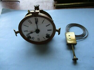 Complete ANSONIA Crystal Regulator Clock Movement with Gong HARD TO FIND!
