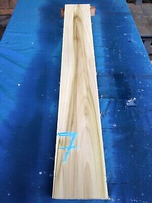 Tulipwood /poplar Lumber/Boards - /Exotic Wood/Joinery 40 x 6 x 1""