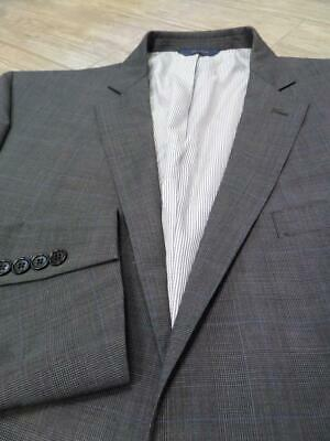BROOKS BROTHERS blazer EXPLORER regent fit 46L gray plaid TRAVEL sportscoat