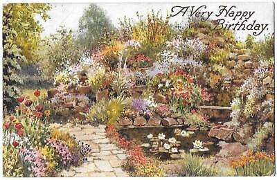 UNTITLED- A VERY HAPPY BIRTHDAY - Artist W.A. Carruthers - J. Salmon Card 4091