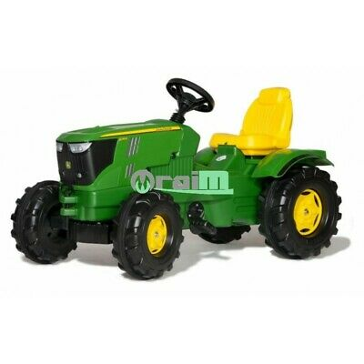 601066 - Rolly Toys Trattore a pedali John Deere 6210 R