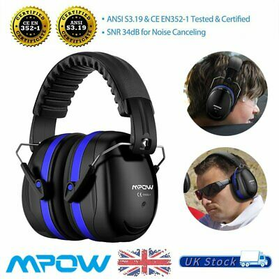 Kids Adult Folding Pro Ear Defenders Ear Muffs Outdoor Shooting Noise Reduction