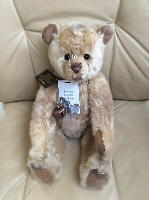Charlie Bears Timepiece Isabelle Collection Mohair under RRP