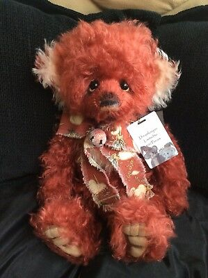 Charlie Bear Dreamkeeper Isabelle Collection Mohair Under RRP