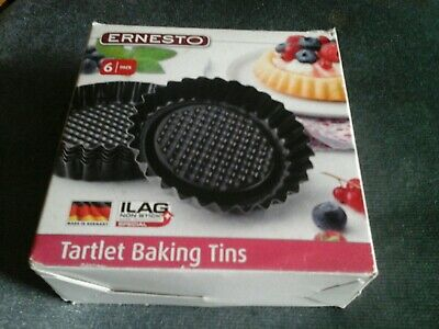 Ernesto baking Tartlets Tins x 6 new