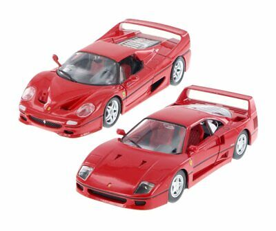 Ferrari F50 And 440 Bundle Set Of Two 1/24 Scale Diecast Cars By Bburago