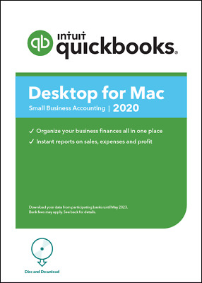 NEW! 1 user QuickBooks Desktop MAC 2020+Free Installation.