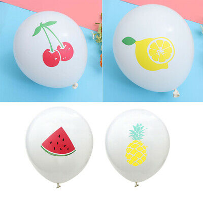 40pcs Balloons Beautiful Latex Funny Fruits Printing Balloon for Party Gathering
