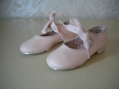 Girls' Pink Capezio Tap Shoes Style U625C Child Size 10