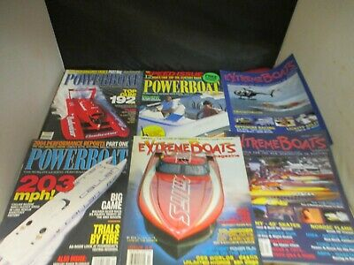 EXTREME BOATS & POWERBOAT BOAT MAGAZINE back issues LOTO SHOOTOUT