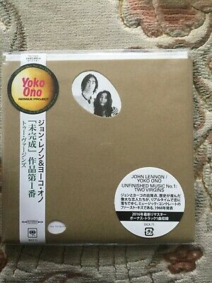 John Lennon And Yoko Ono Unfinished Music No1 Two Virgins Sealed Cd Japan Import