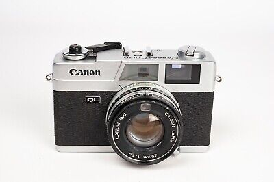"Canon Canonet QL19 + 45mm 1:1.9 Rangefinder Camera "" NEW SEALS""- READ DESCRIPTIO"