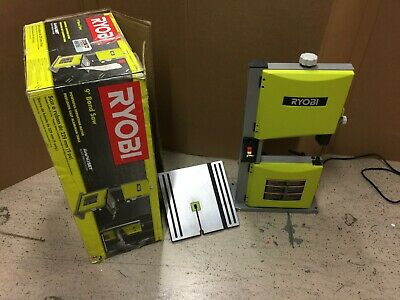 Ryobi Stationary Band Saw 9 in 2.5 Amp Quick-Release Tension Aluminum Table Top