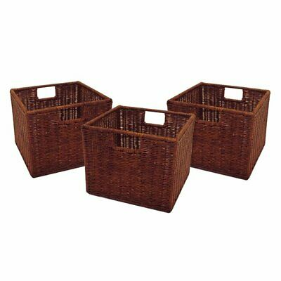 Winsome Wood 92310 Wired Baskets (Set of 3)