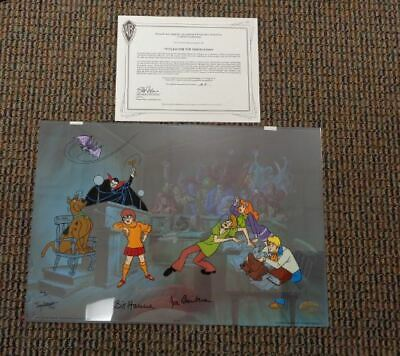 S/O WITLESS FOR THE PROSECUTION Ltd AP Cel Scooby Doo Halloween Vampire Ghost