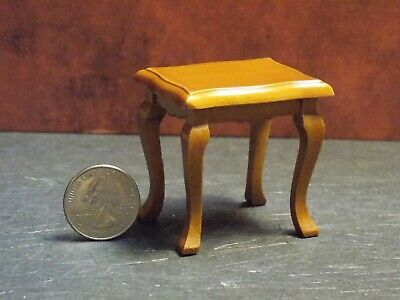 Dollhouse Miniature Telephone Stand Oak 1:12 one inch scale E38 Dollys Gallery