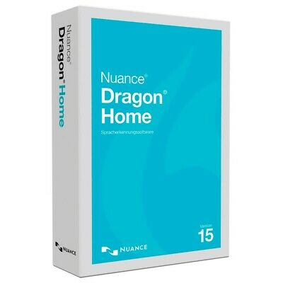 Nuance Dragon Home 15 Full Version