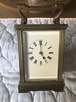 Fine Antique Brass  Carriage Clock