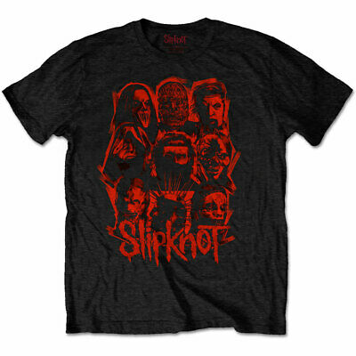 Official Slipknot T Shirt We Are Not Your Kind Red Patch Black Rock Metal WANYK